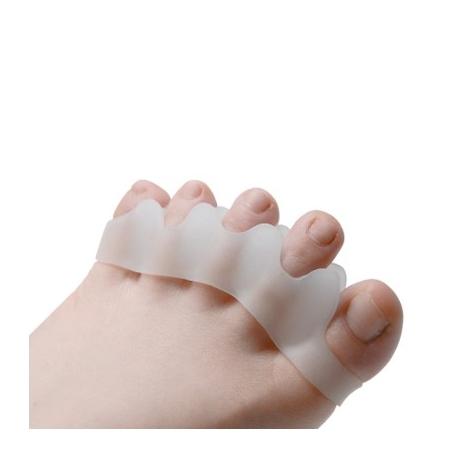 écarteurs 5 orteils silicone