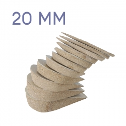 Podorex talonnette 20mm de compensation